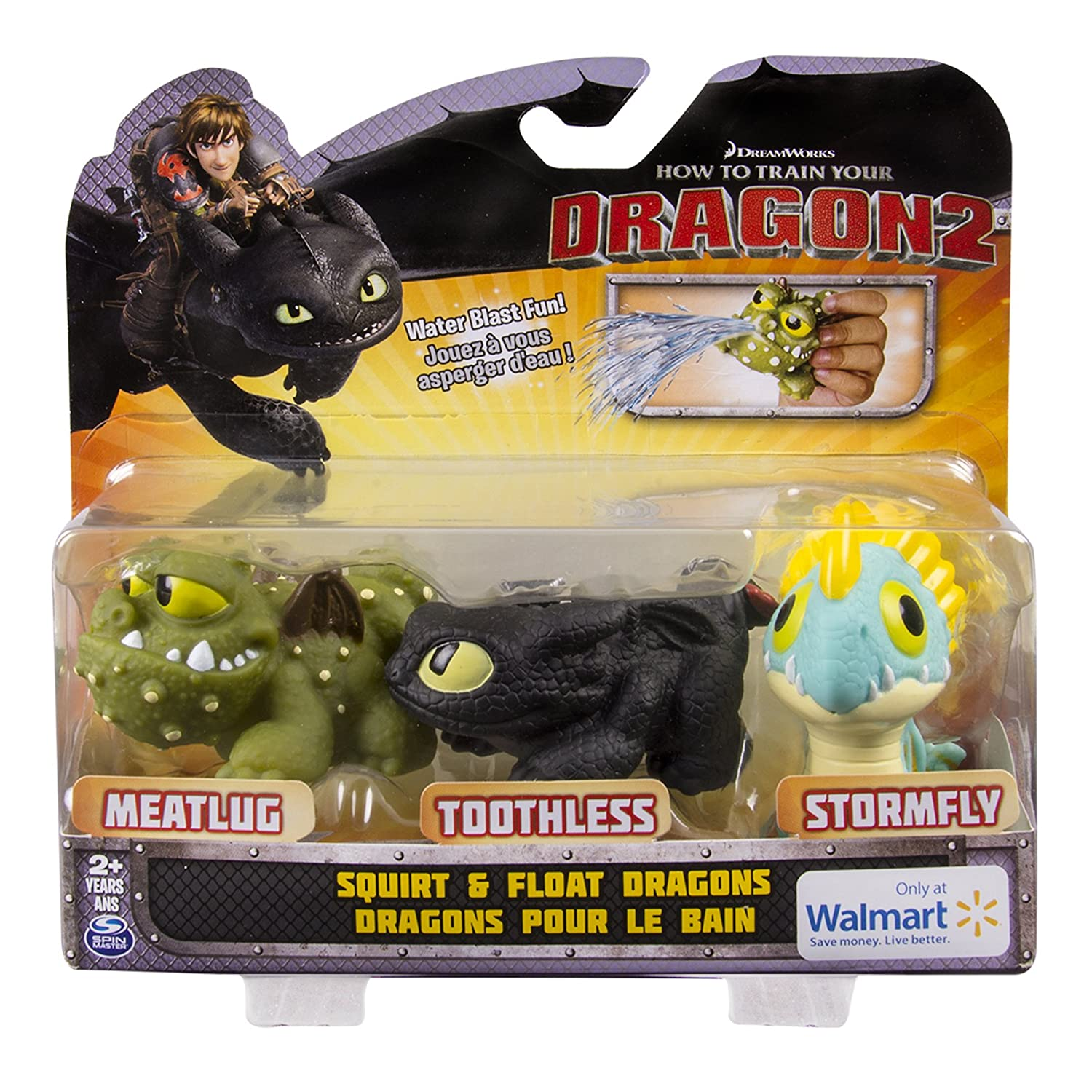 Amazon.com: DreamWorks Dragons: How To Train Your Dragon 2 - Squirt ...