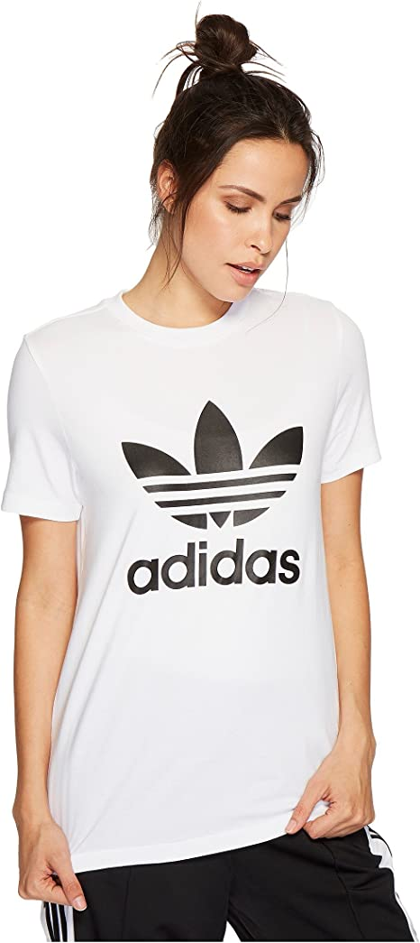adidas Originals Trefoil tee Camiseta para Mujer: Amazon.es: Ropa y accesorios