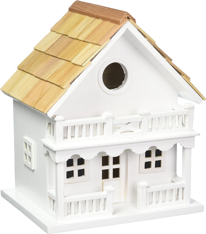Home Bazaar Hand-made Chalet Bird House - Bird Friendly Home Decor
