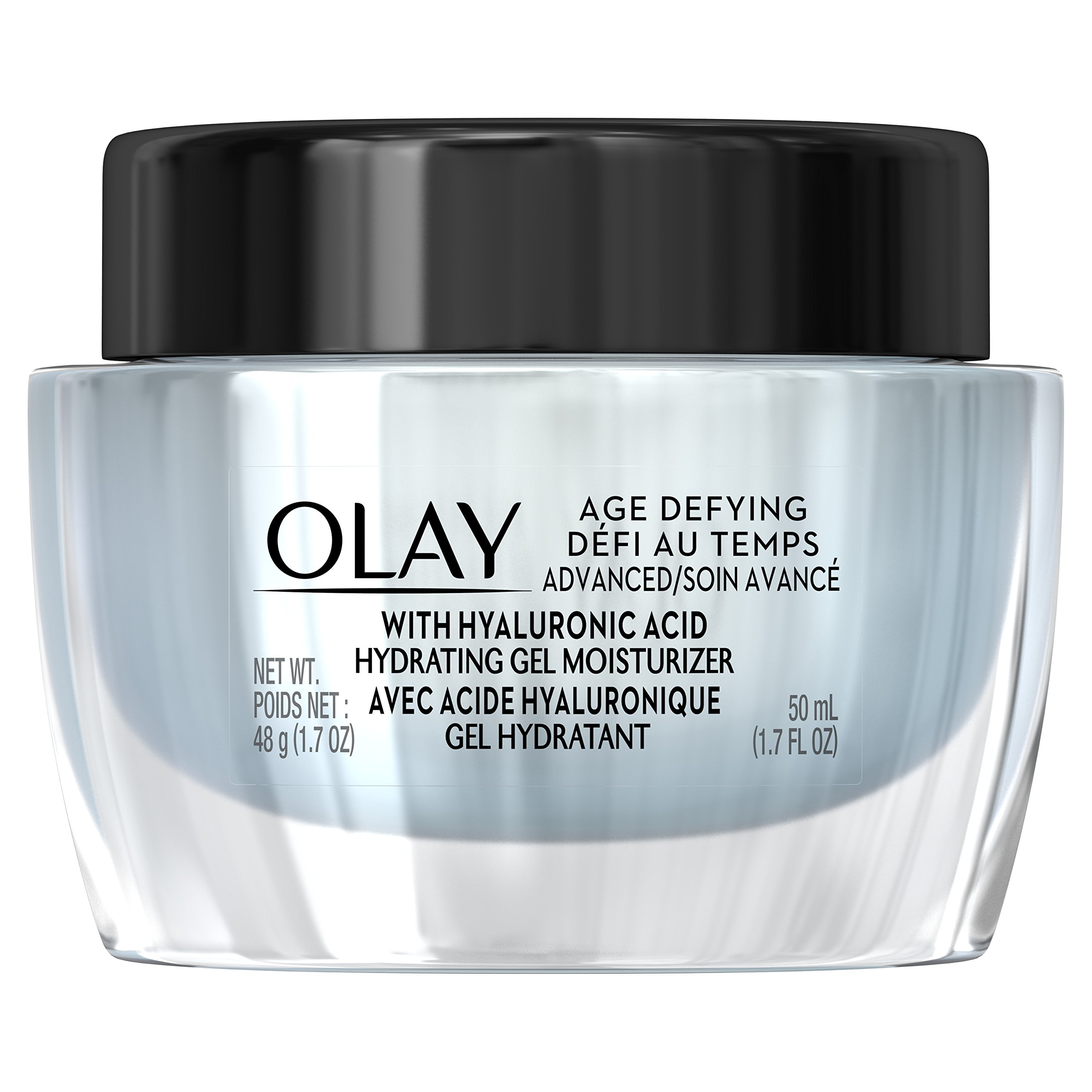 Gel Moisturizer with Hyaluronic Acid by Olay Age Defying, 1.7 fl oz by Olay