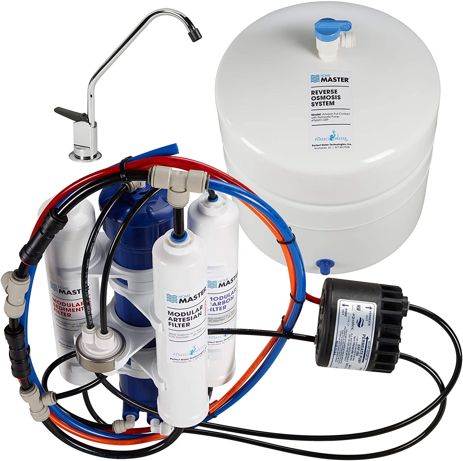 Home Master TMAFC-ERP Artesian Reverse Osmosis Water Filter System