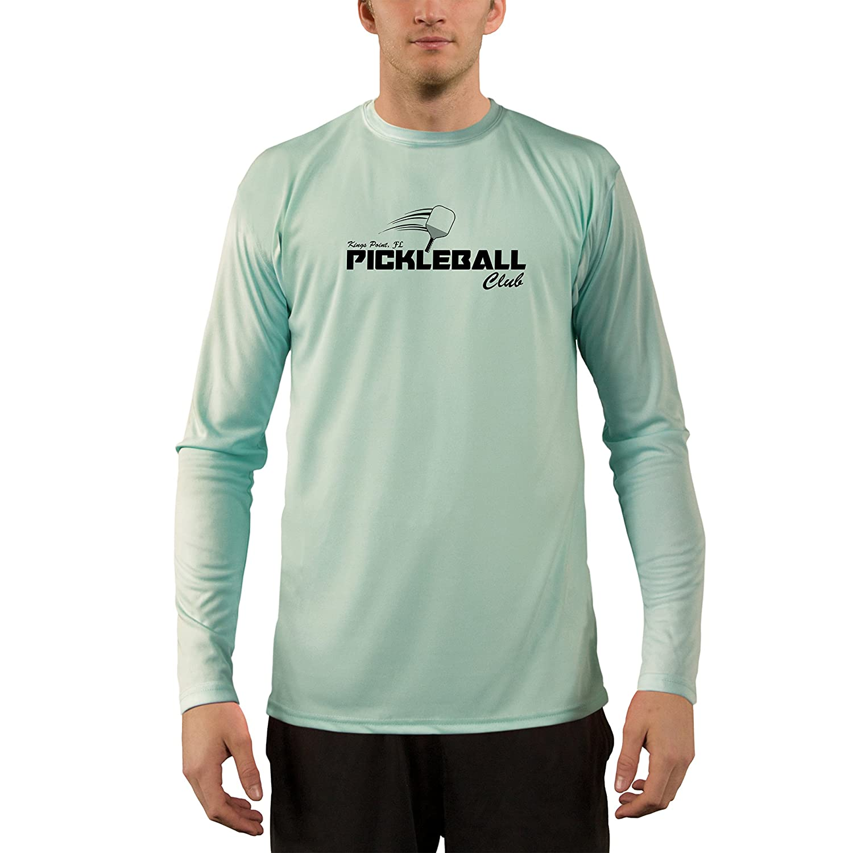 Long Sleeve T-Shirt Vapor Apparel Mens Kings Point Pickleball UPF 50