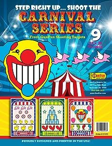 GunFun Shooting Targets Carnival Shoot Series 9 Pack