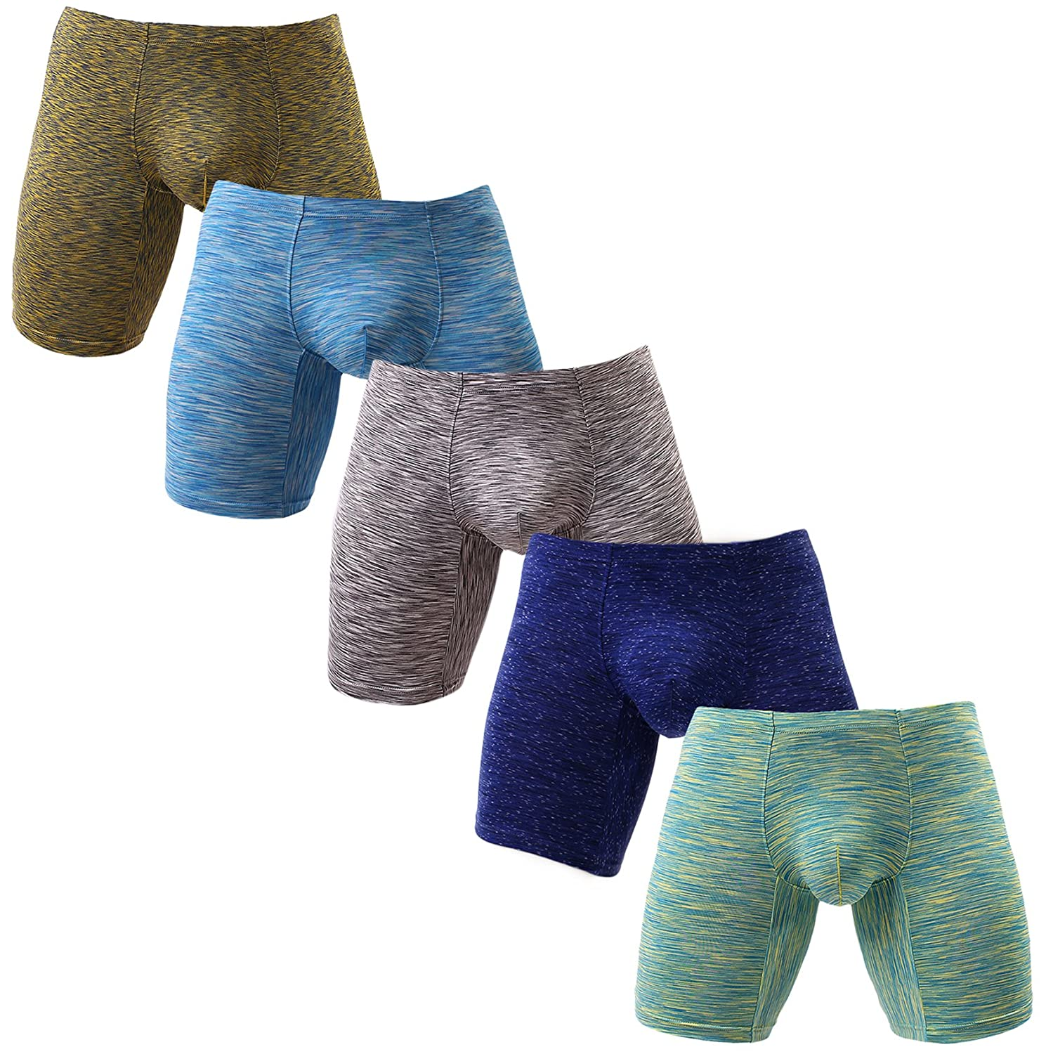 NEIKU UNDERWEAR メンズ B07B3M22VD X-Large|5 Pack Mixed Color 5 Pack Mixed Color X-Large