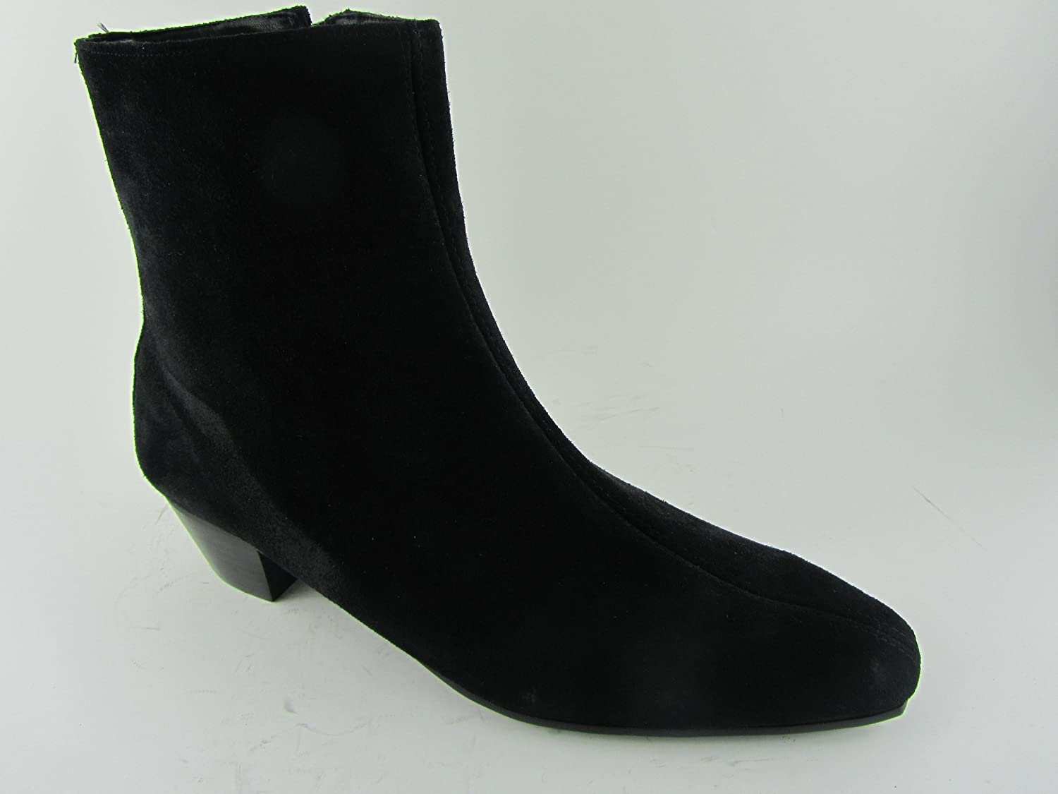 8fa557dafe5 Retro Mens LENNON Black Suede Zip Chelsea Beat Boots Cuban Heel Beatle  Original (UK 9   EU 43)  Amazon.co.uk  Shoes   Bags