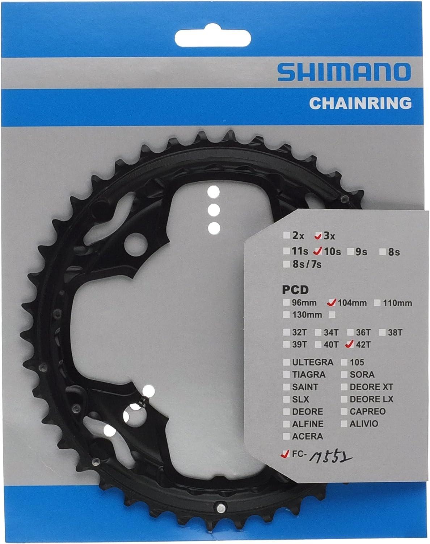 5 paire y-1hd98040 Shimano Chaînes Feuille Vis Noir pour fc-s500