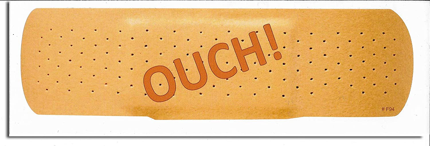 New Funny Novelty Bumper Sticker//Decal for Cars for Trucks for Adults Gear Tatz OUCH
