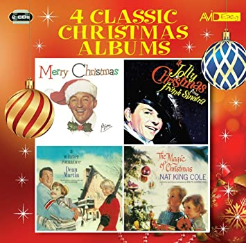 Christmas Albums.Four Classic Christmas Albums Merry Christmas A Jolly Christmas A Winter Romance The Magic Of Christmas
