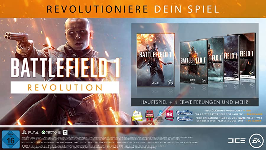 Battlefield 1 Revolution [PS4]/[XO]