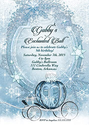 amazon com cinderella invitation carriage invitation handmade