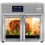 Kalorik 26 QT Digital Maxx Air Fryer Oven with 9 Accessories, Roaster, Broiler, Rotisserie, Dehydrator, Oven, Toaster, Pizza