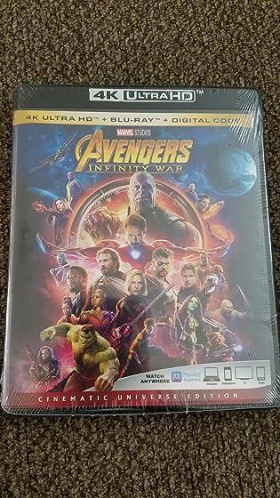 Avengers: Infinity War (Plus Bonus Content) Not Happy