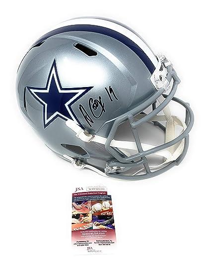 e964c8b19 Amari Cooper Dallas Cowboys Signed Autograph Full Size Speed Replica JSA  Witnessed Certified