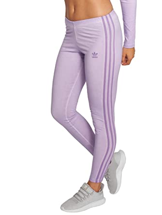 2b00515bc795d adidas Originals Women Leggings/Treggings 3 Stripes Purple 30:  Amazon.co.uk: Clothing
