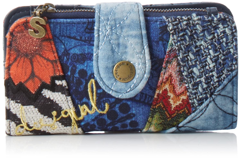 Desigual BASIC ELECTRA Billetera Mujer Azul xx cm B x H x
