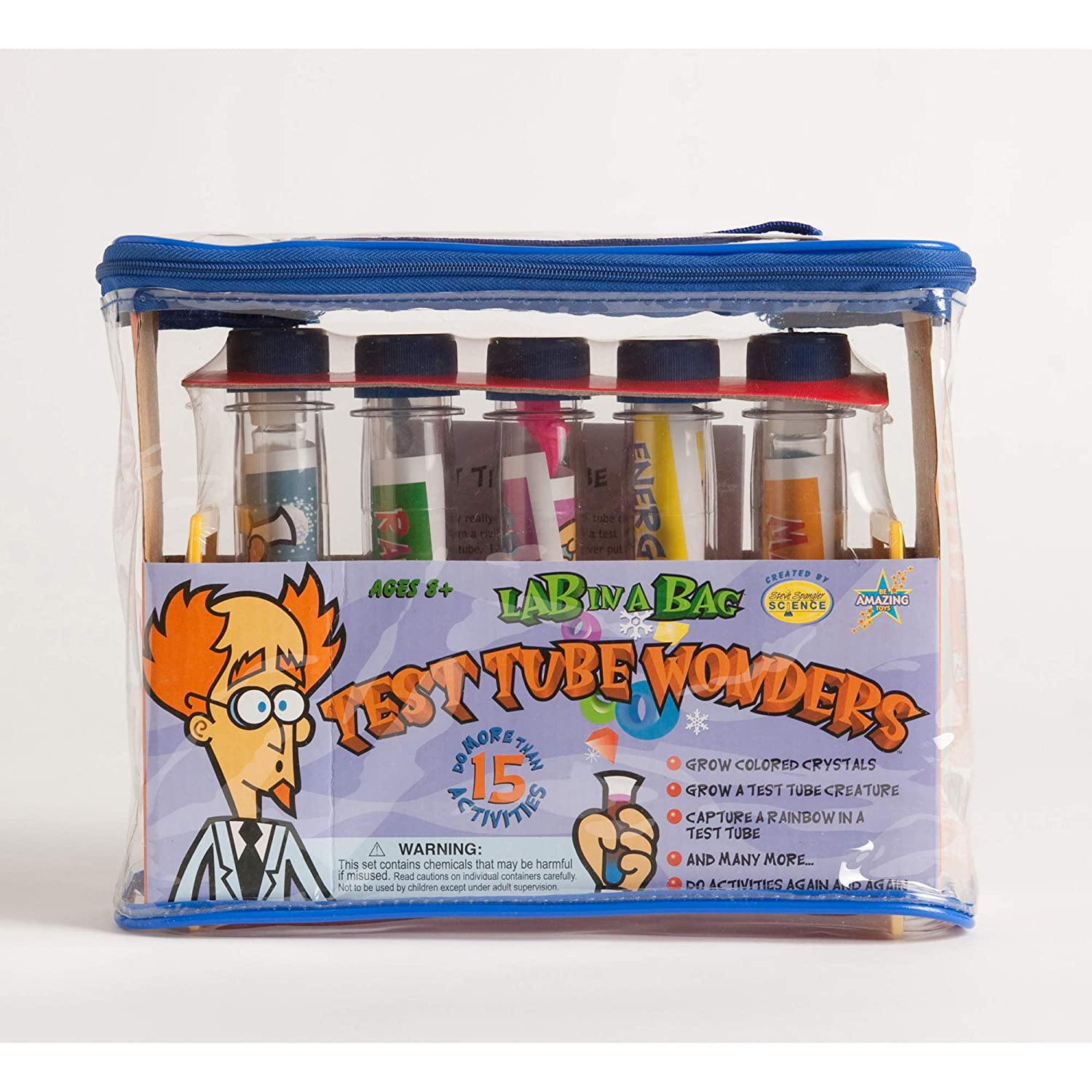 Amazon Be Amazing Lab In A Bag Test Tube Wonders Toys Games