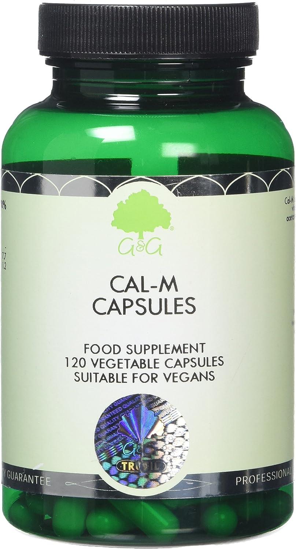 G&G Vitamins Cal-M 250mg Capsules