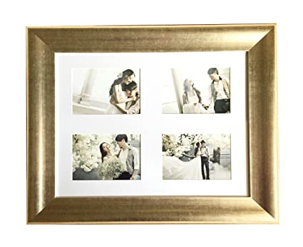 Amazon.com - Lilian 16x20Inch-4 OP Antique gold Collage Picture ...
