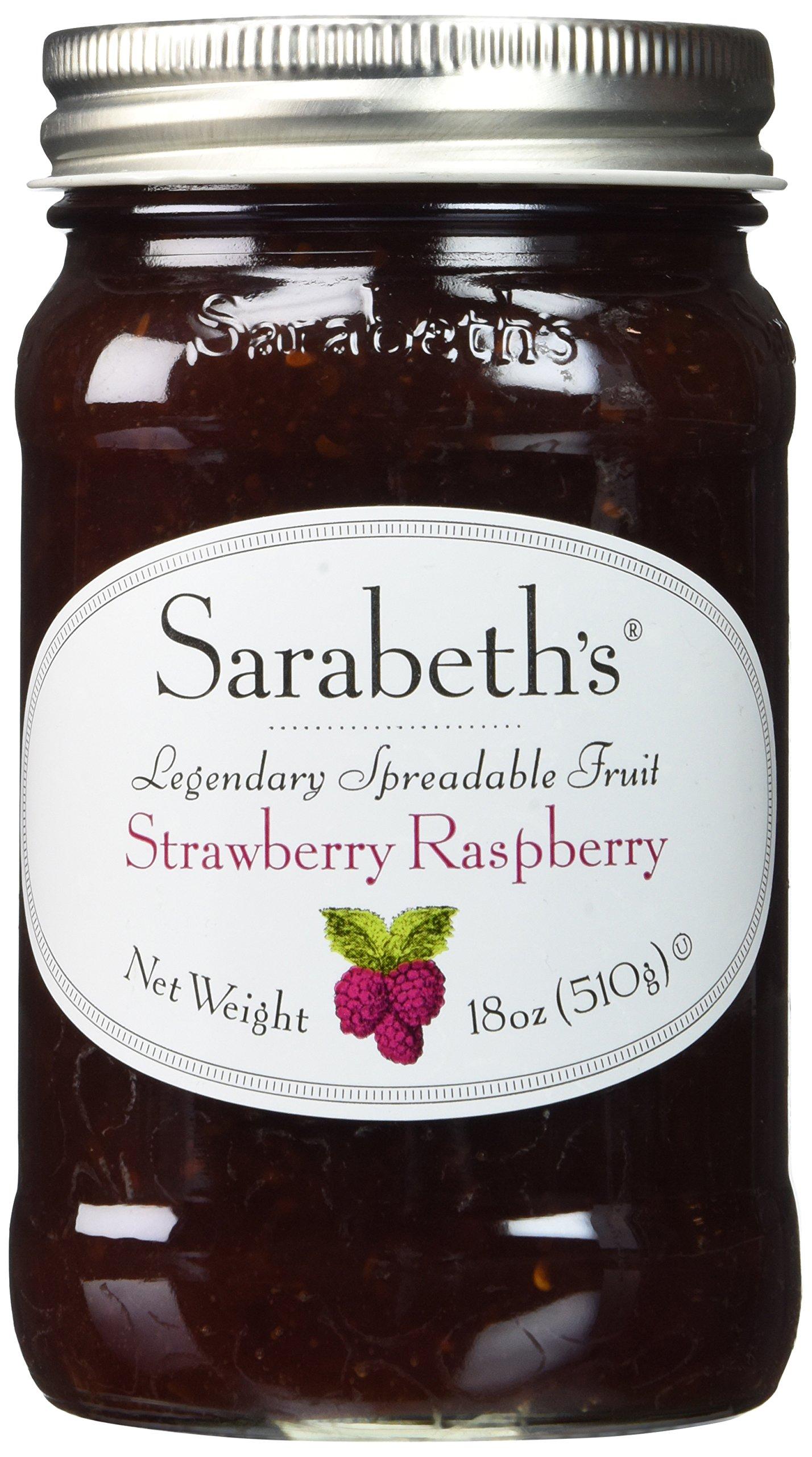 Sarabeth's Strawberry Raspberry Fruit Spread, 18 oz