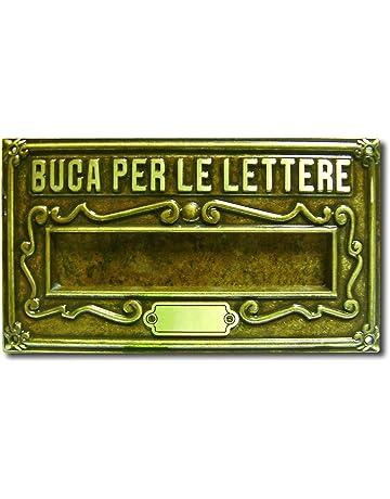 Alubox a8ob placa bucalettere Serie como lat/ón barnizado fundido bru/ñido