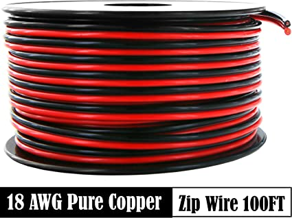 8 Gauge 200 ft Roll BLUE Power Ground OFC Wire Copper FLAT Marine Cable AWG USA