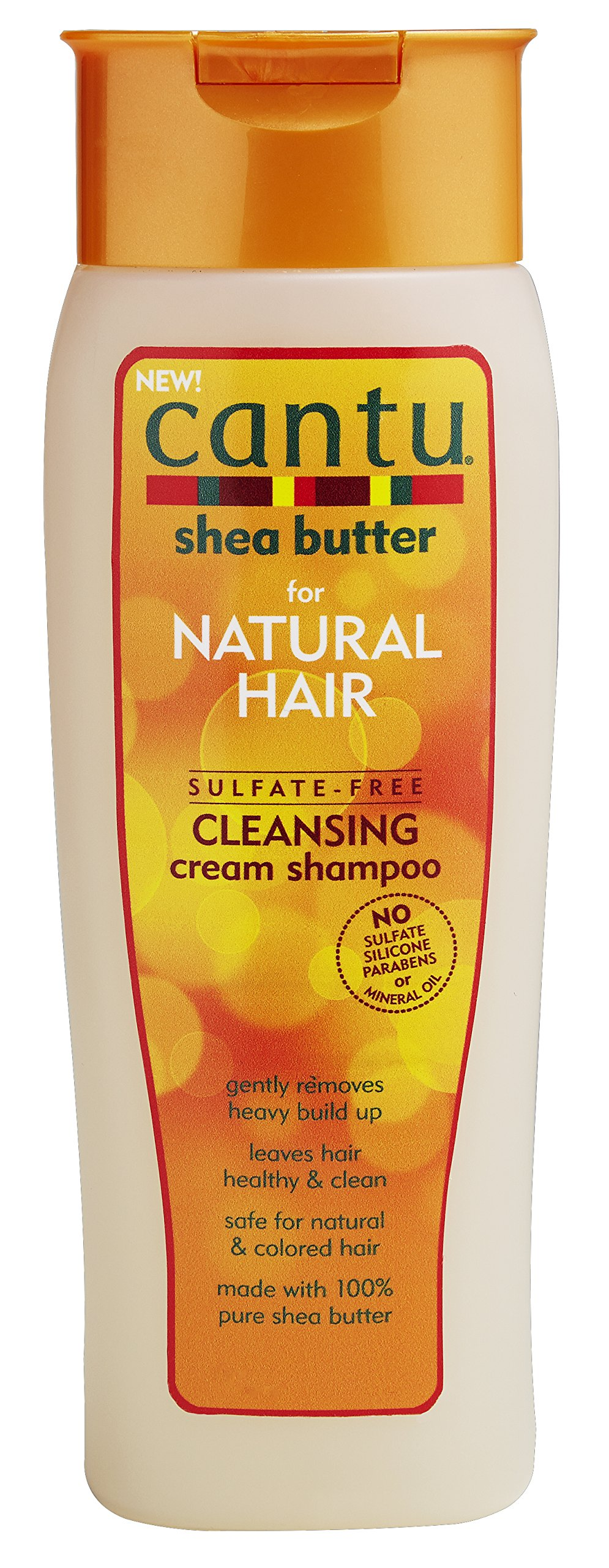Cantu Sulfate-Free Cleansing Cream Shampoo, 13.5 Fluid Ounce (Pack of 4)