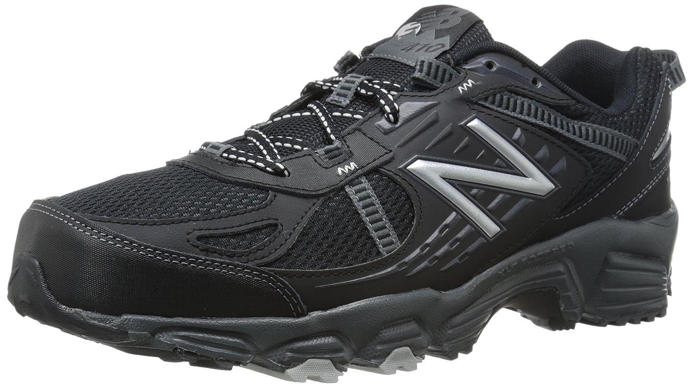 ニューバランス メンズ MT410V4 トレイルランニング靴 B00OQ1RVH4 12 4E US ブラック / シルバー