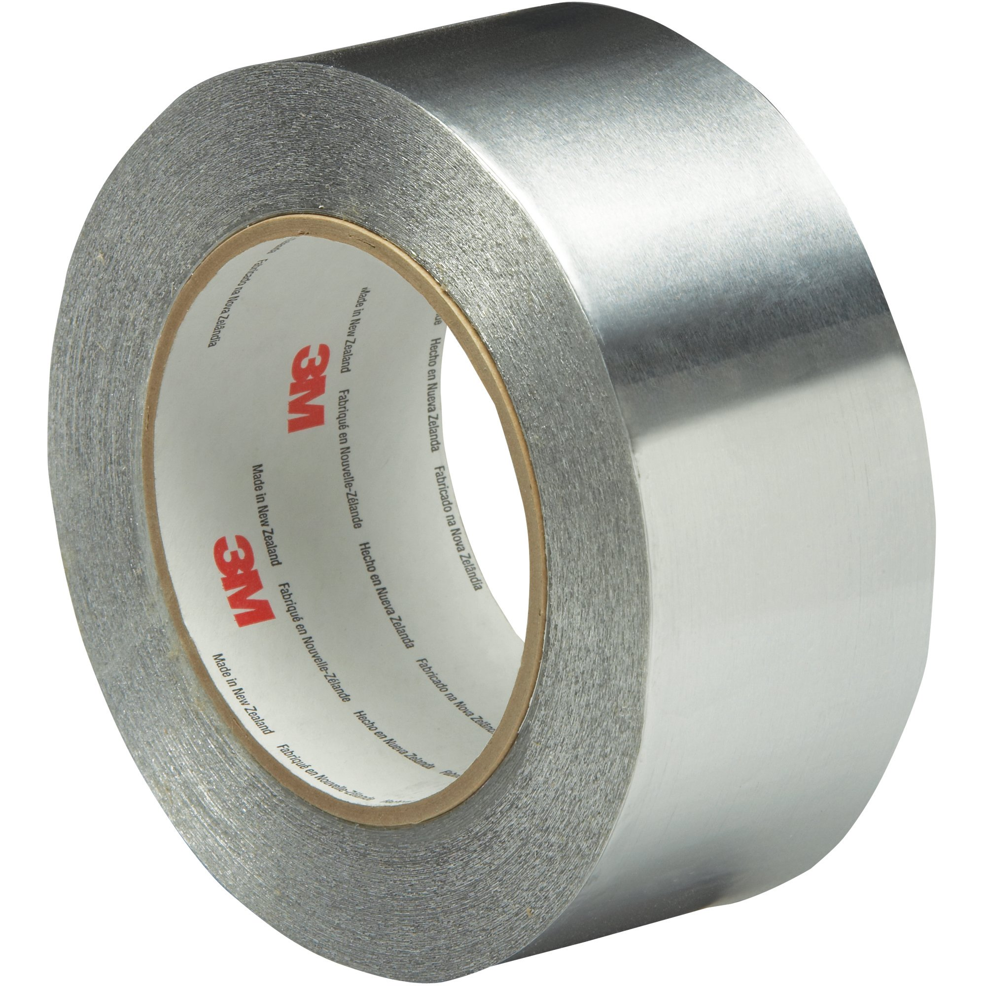 Boxes Fast 3M 425 Aluminum Foil Tape, 4.6 Mil, 2'' x 5 yds, Silver, (Pack of 1)