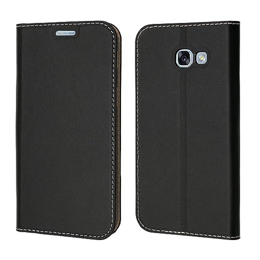 3 opinioni per Custodia Samsung Galaxy A5 2017, Coodio Custodia Portafoglio in Vera Pelle,
