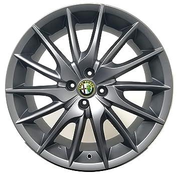 F9011ROT Ma 1 aro de aleación 7,5J 18 4 x 98 Et42 58,1 originales para Alfa Romeo Mito 955 compelti de tapacubos Cap Alfa Romeo: Amazon.es: Coche y moto