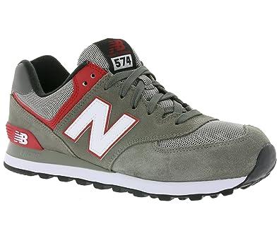nouveau style b7de8 5724c New Balance 574 Hommes Sneaker Gris ML574AAC, Taille:41.5 ...