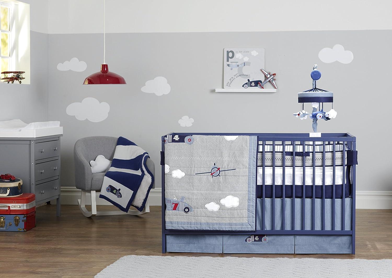 amazon com just born 100 cotton fitted crib sheets retro ride
