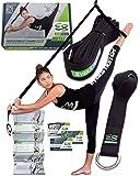 EverStretch 脚用ストレッチャー: ドア掛け開脚トレーナーLITE :ストレッチ機器 バレエ、ダンス、MMA、テコンドー、体操などに。持ち運びにも便利。