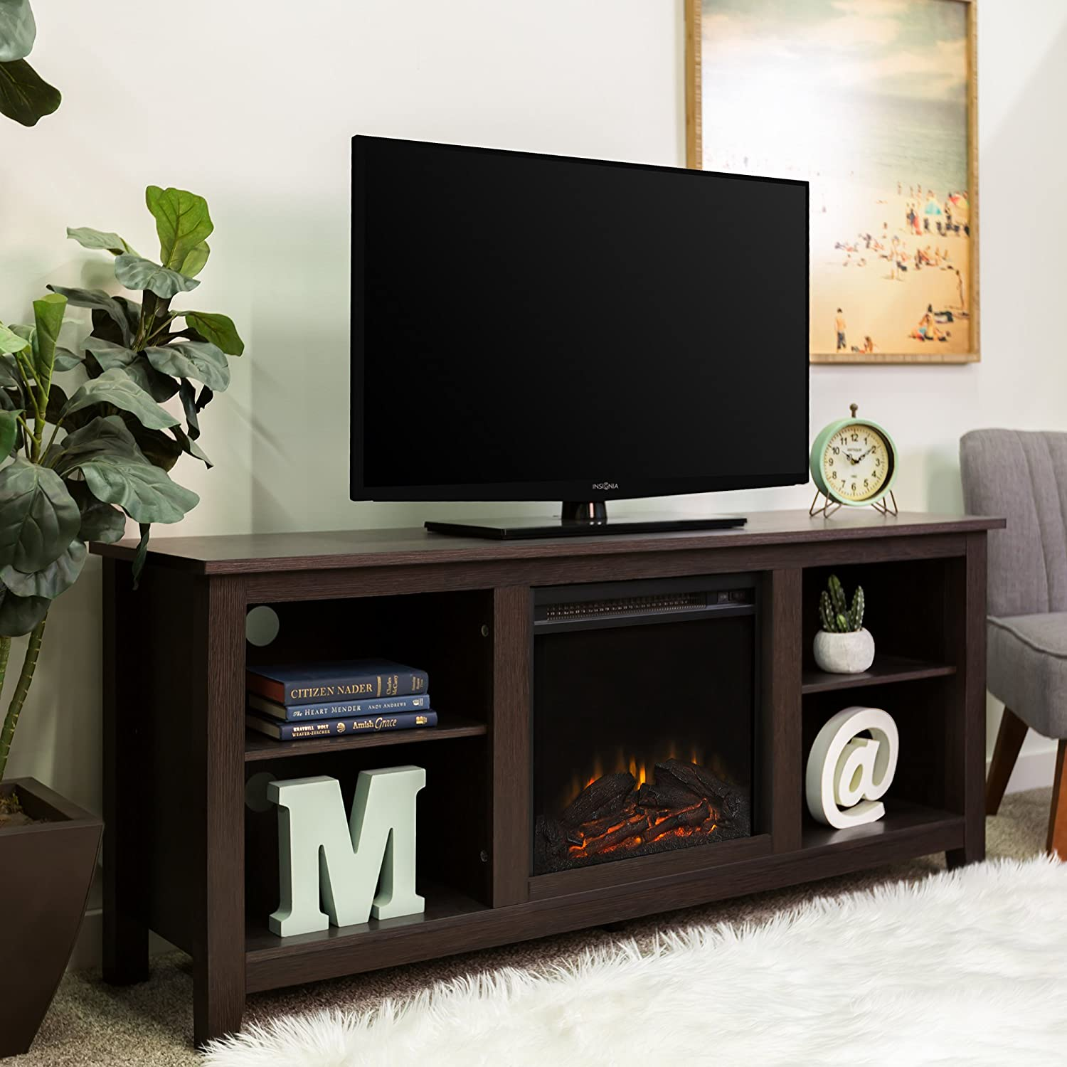 Corner fireplace with your hands: step-by-step instruction (photo)