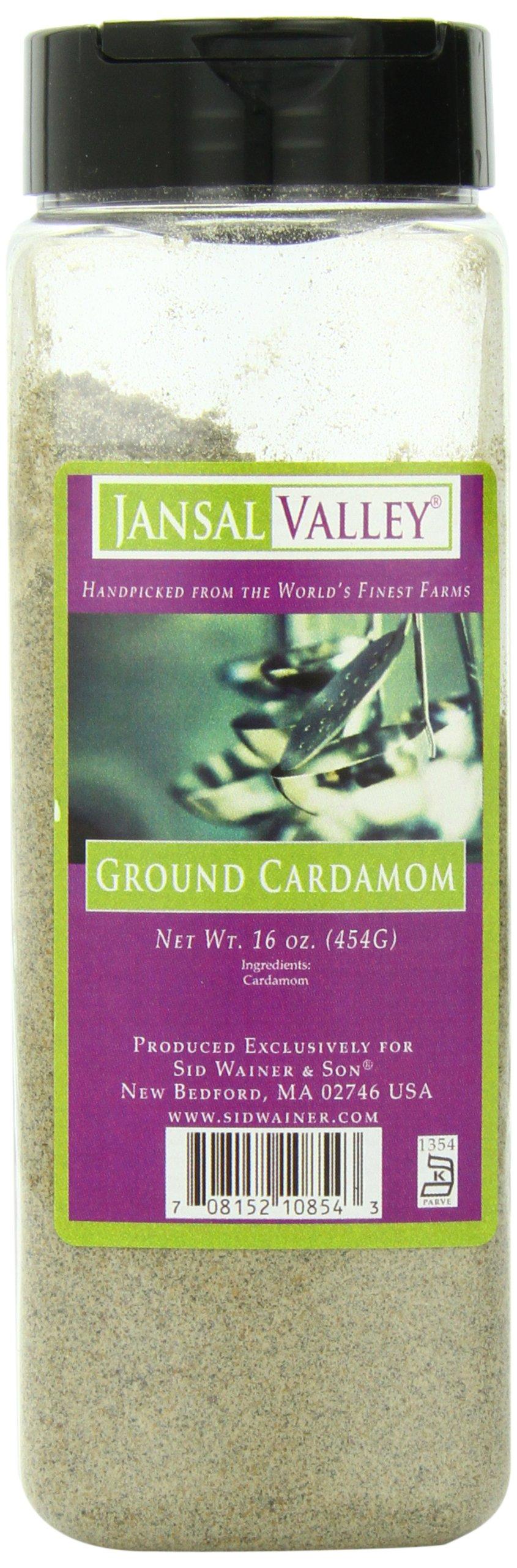 Jansal Valley Ground Cardamom, 16 Ounce