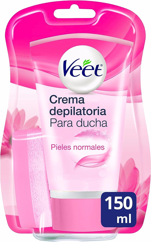 Veet Crema Depilatoria Corporal para Usar Bajo la Ducha para Mujer ...