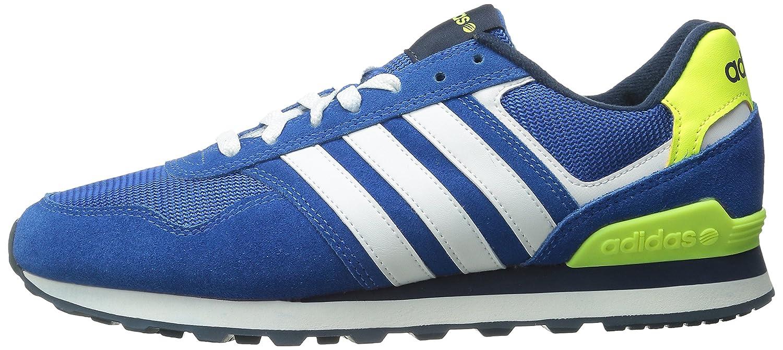 adidas , Herren Sneaker BlauWeißMarineblau:
