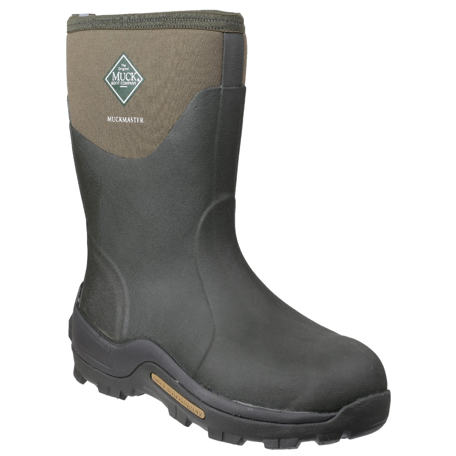 Muck Boot Unisex Muckmaster Hi Wellington Boots (8 M US / 9 W US) (Moss)