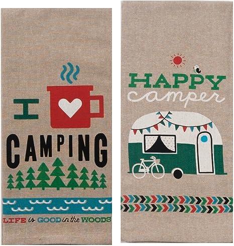 Happy Camper Towel Set