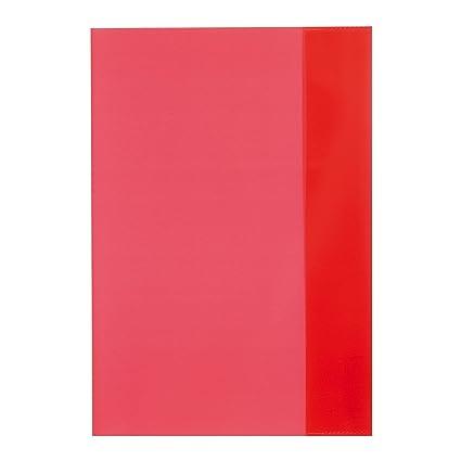 Hefthüllen DIN A5 Farbe 10 Heftumschläge transparent klar