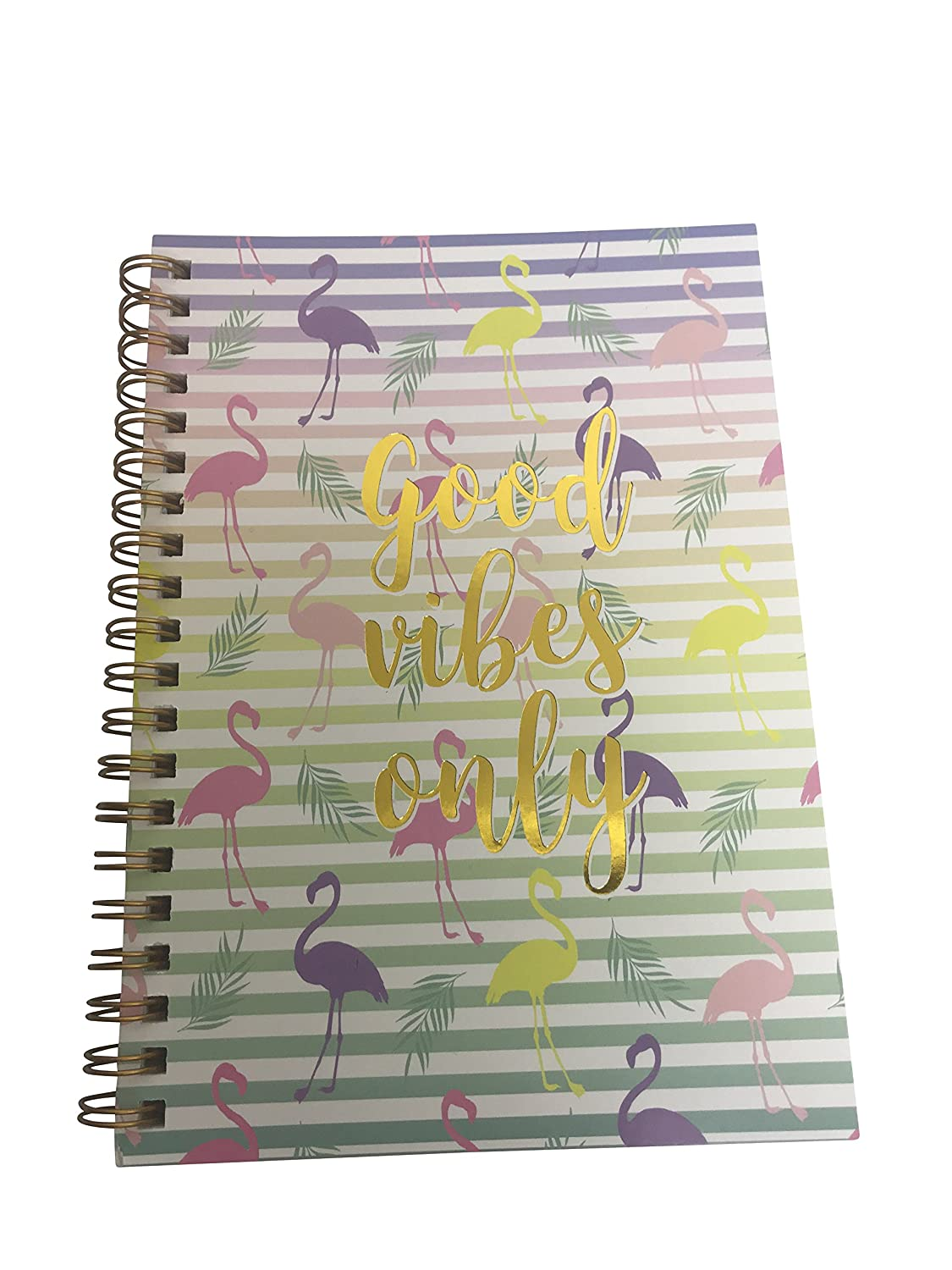 Amazon.com: Small Spiral Wire Bound Softcover Notebook, 5 X ...