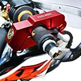 ToolWRX Motorcycle Lock - Best Quality Heavy Duty Anti Theft for Motorcycles Mopeds Scooters ATVs Street Bike Dirt Bike…