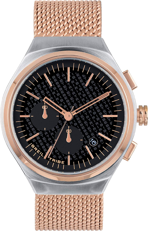 Reloj Breil colección SPIN Off Movimiento de Cuarzo Chrono y Acero Mesh para Hombre