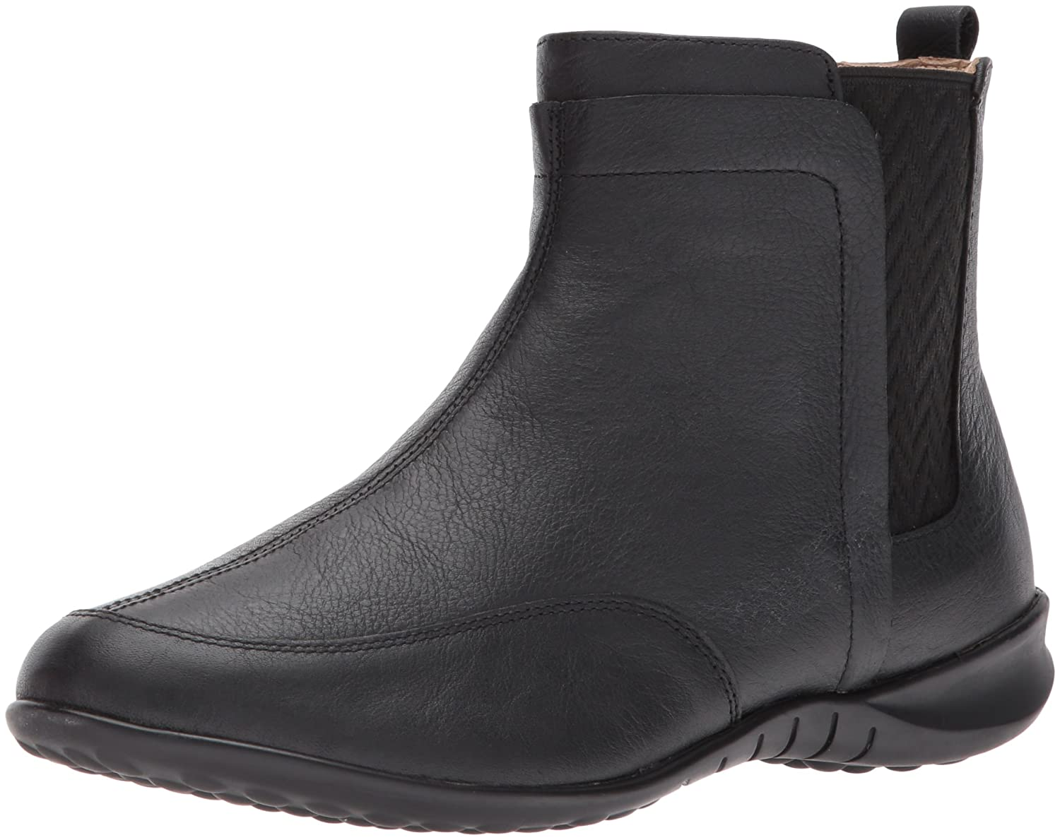 Hush Puppies Women's Lindsi Bria Chelsea Boot B01MSD0VGK 8 W US|Black Wp
