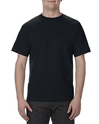 1d56ca85e AlStyle Apparel AAA Plain Blank Men's Short Sleeve T-Shirt Style 1301 Crew  Tee