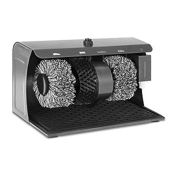 Bredeco BC-S-POL3 Maquina Limpia Zapatos Electrico (3 Cepillos, Capacidad del Dispensador 200 ml, 24,2x40x26,2 cm, Acero): Amazon.es: Bricolaje y ...