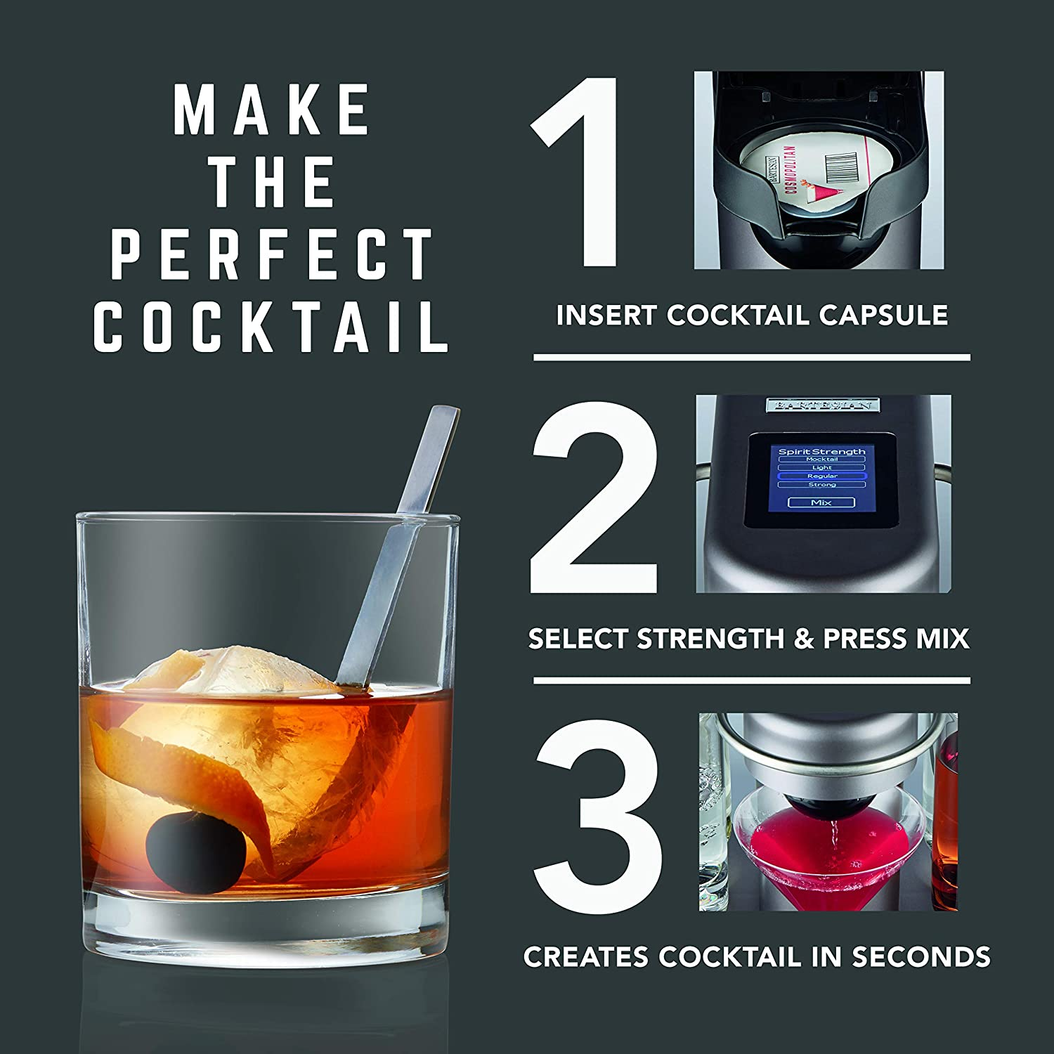 Make the perfect Cocktail