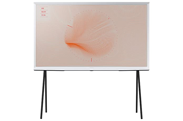SAMSUNG 55u0022 Class 4K UHD (2160P) The Serif QLED Smart TV QN55LS01 (2019 Model)