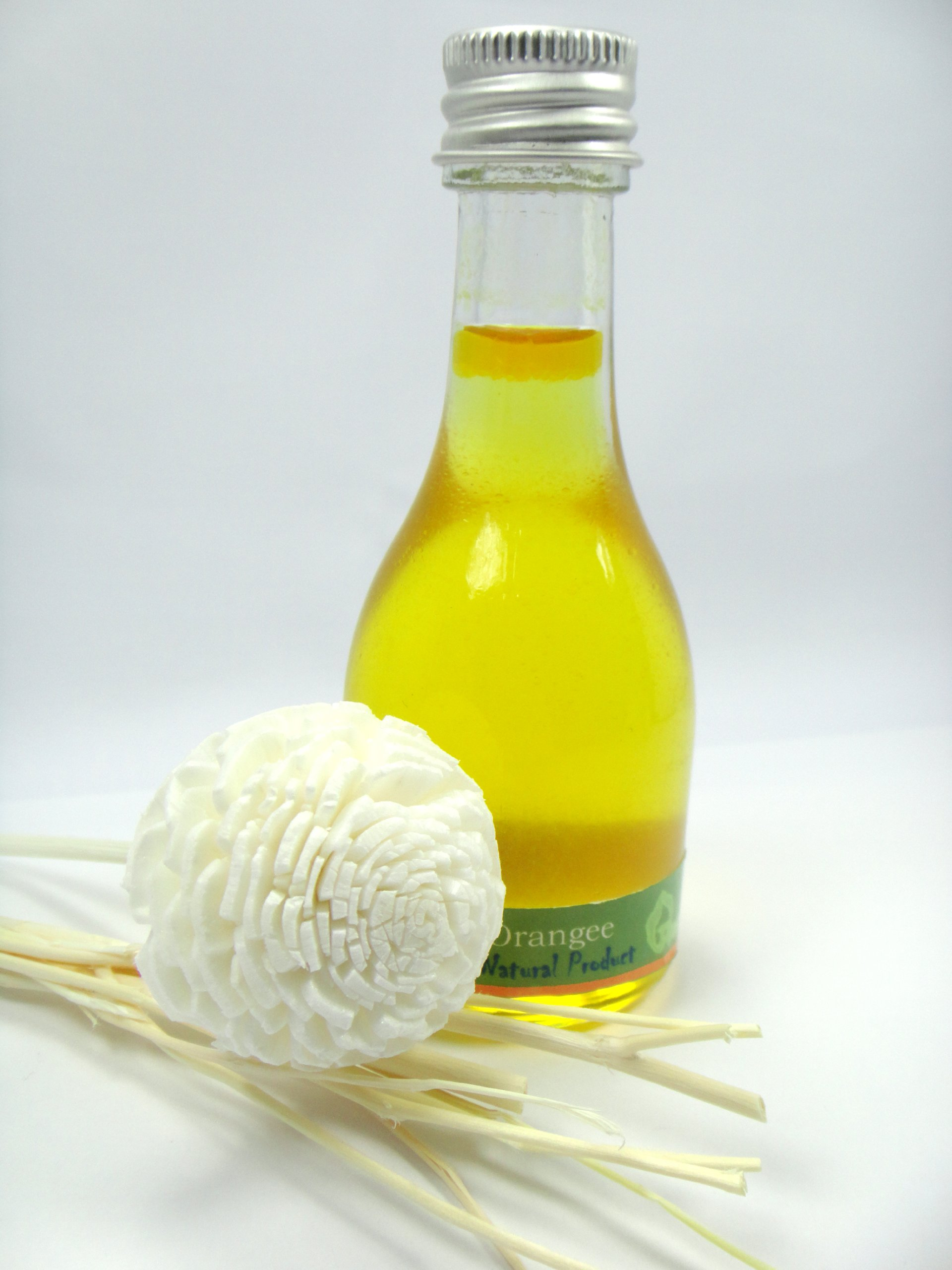 ORANGE Reed Diffuser Fragrance Essential Oil Reed Diffuser Blossom 30ml/1 Oz. by Thailand by Thailand