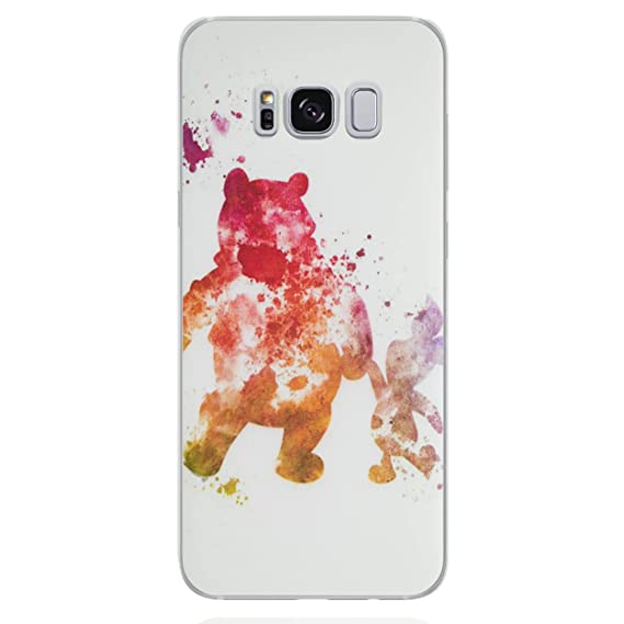 new product af4e1 6c019 Galaxy S8 Plus Fan Art Disney Silicone Phone Case/Gel Cover for Samsung  Galaxy S 8 Plus (S8 Plus/G955) / Screen Protector & Cloth/iCHOOSE / Winnie  The ...